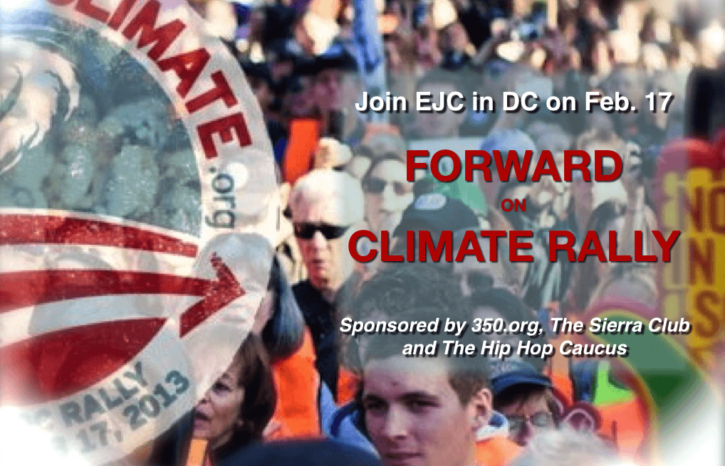 Join EJC for the Forward on Climate Rally