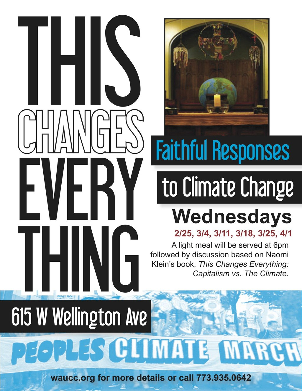 This Changes Everything Flyer