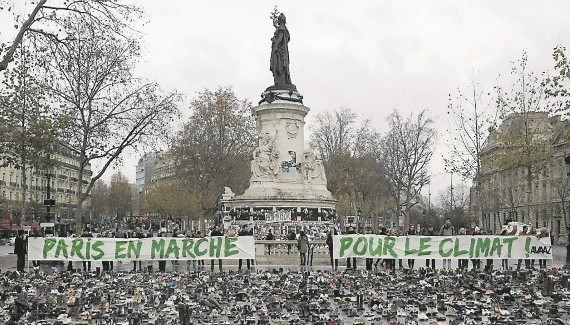 Photo courtesy of Megan Rowling and Alister Doyle, Paris, Irish Examiner